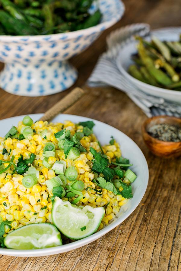 Fresh summer corn side dish, Waiting On Martha