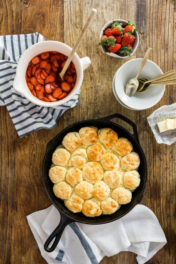 Classic homemade strawberry shortcake recipe