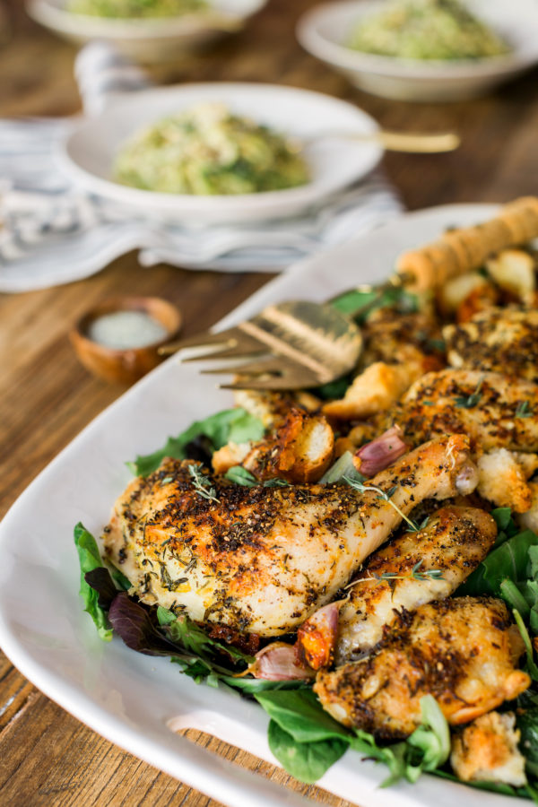 It's All Easy pan roasted chicken recipe