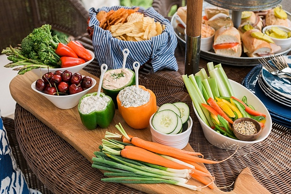 Healthy block party food ideas, @waitingonmartha