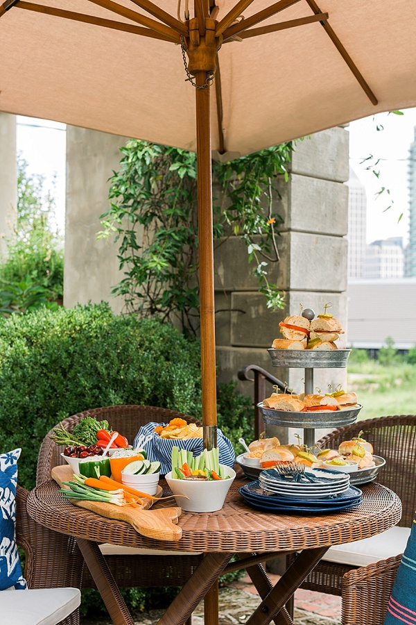 Pottery Barn outdoor entertaining inspiration, @waitingonmartha