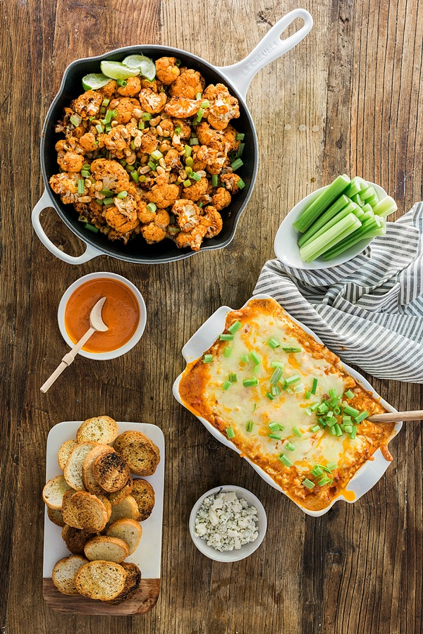 Spicy Buffalo Cauliflower Bites recipe by @waitingonmartha