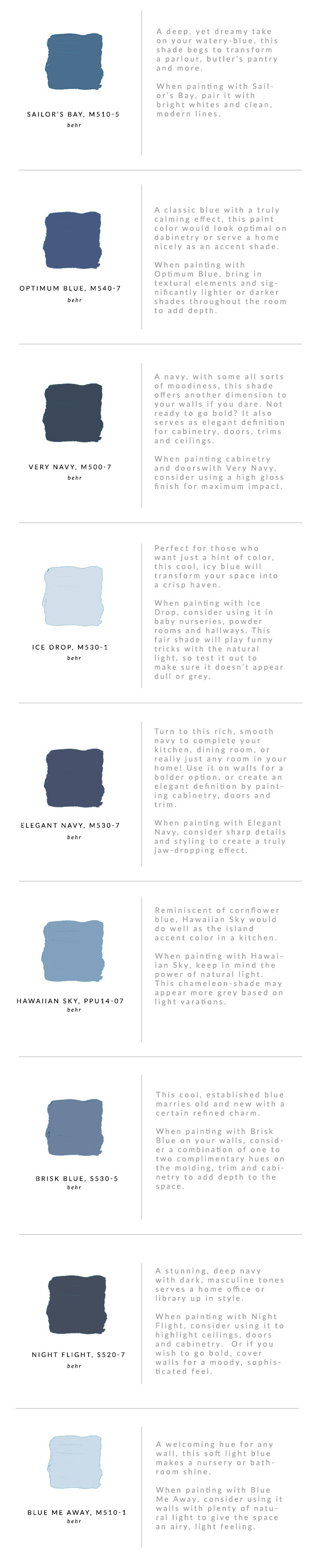 How to choose the perfect blue paint waiting on martha blue paint options waiting on martha malvernweather Image collections
