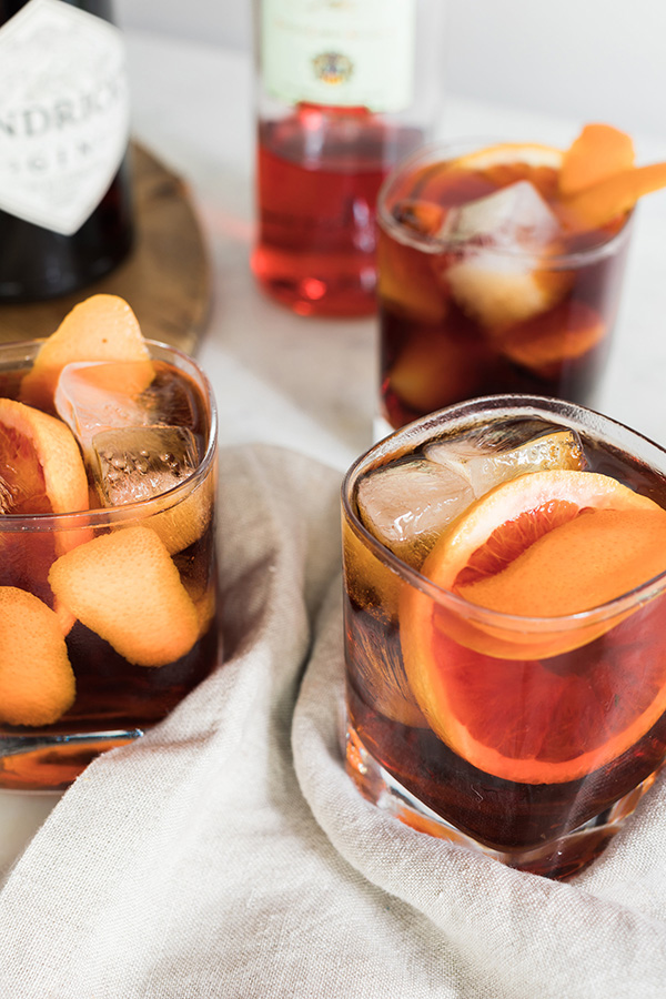 The Classic Negroni cocktail recipe by @waitingonmartha