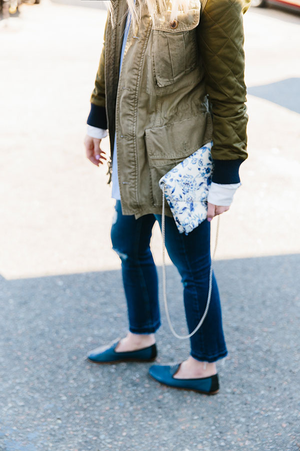 The perfect spring outfit idea with Chanel flats, @waitingonmartha