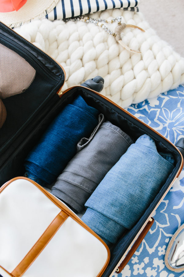 How to pack a small carry on suitcase via Waiting on Martha