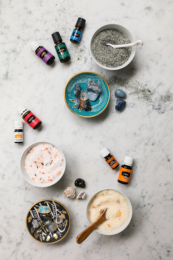 DIY Essential Oil Bath Salt for Energy, Harmony & Healing