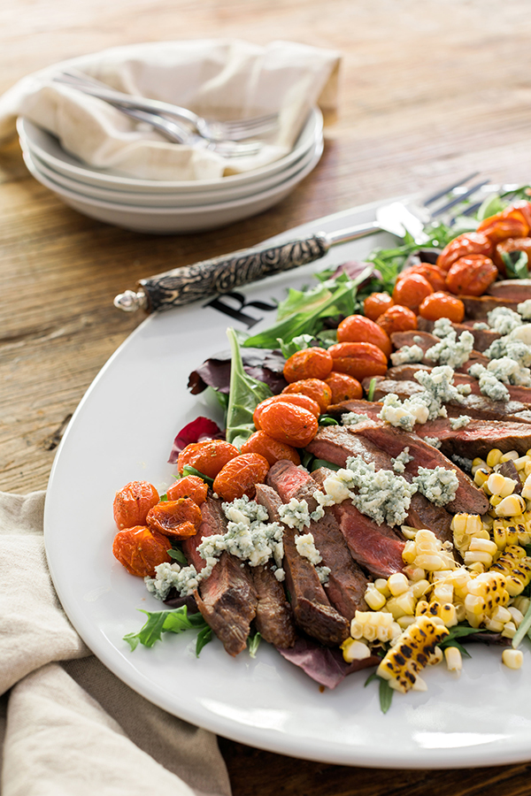 Steakhouse salad recipe | Waiting on Martha