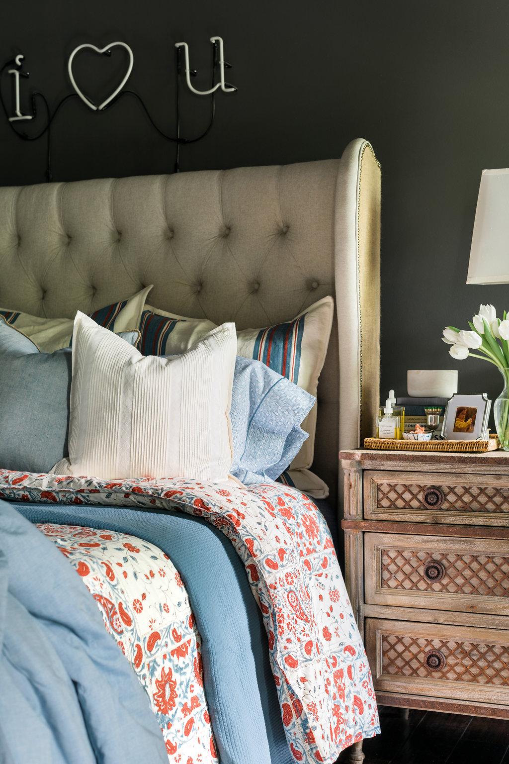 Lauren Ralph Lauren bedding on Waiting on Martha