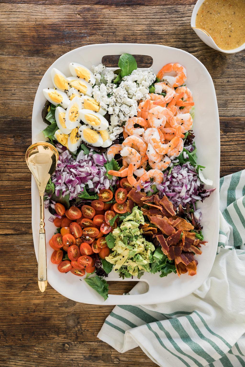 b5d5297e76e20 Citrus Shrimp Cobb Salad   Waiting on Martha   Bloglovin'