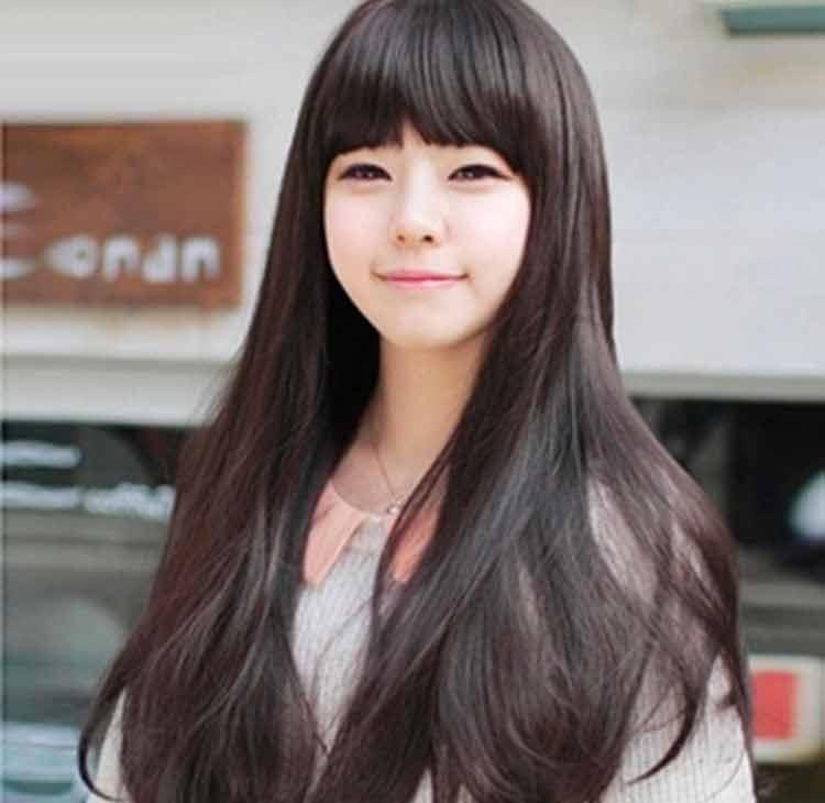 35 Model Rambut Pendek Dan Panjang Wanita Korea April 2019