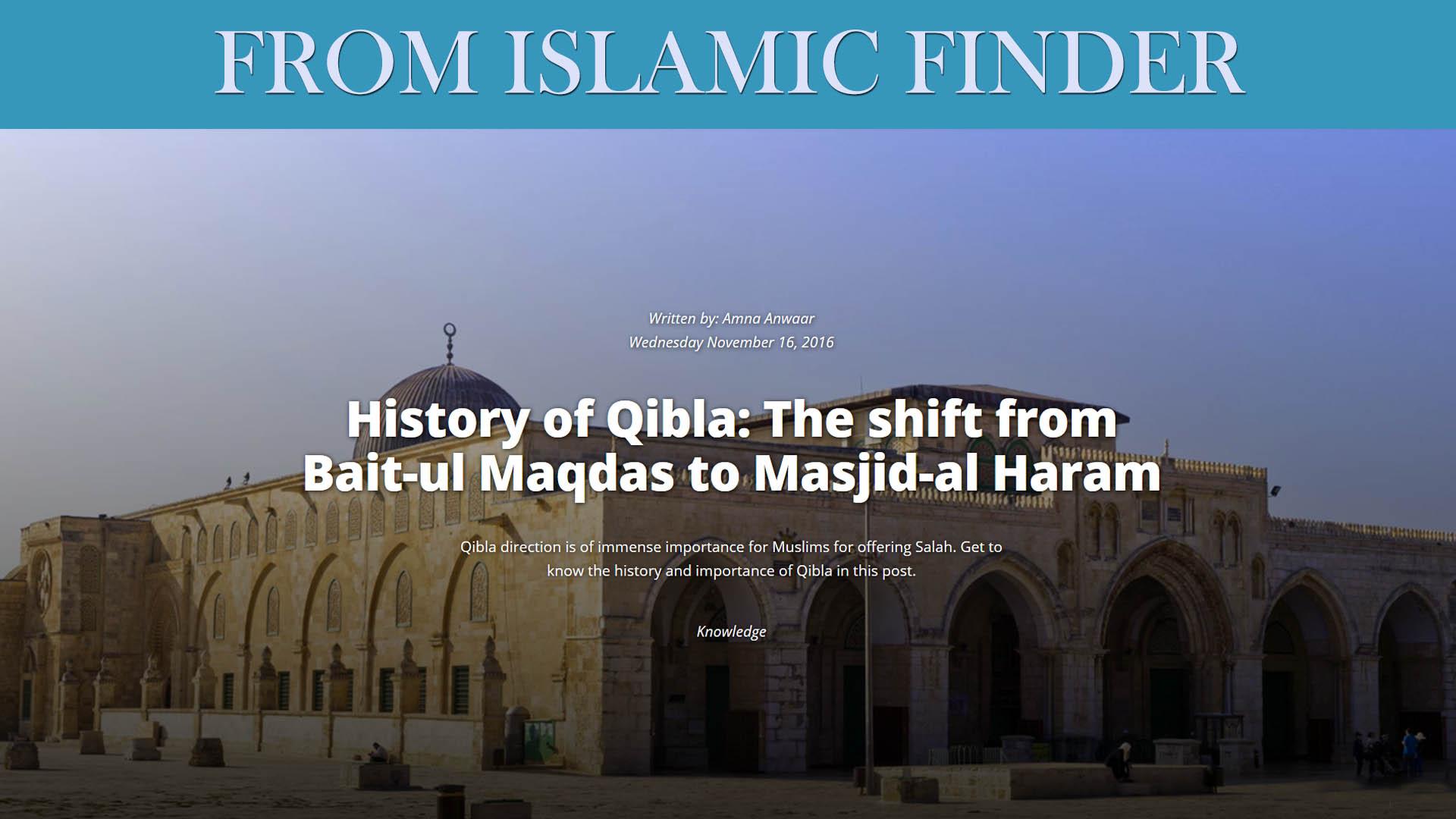 History of Qibla