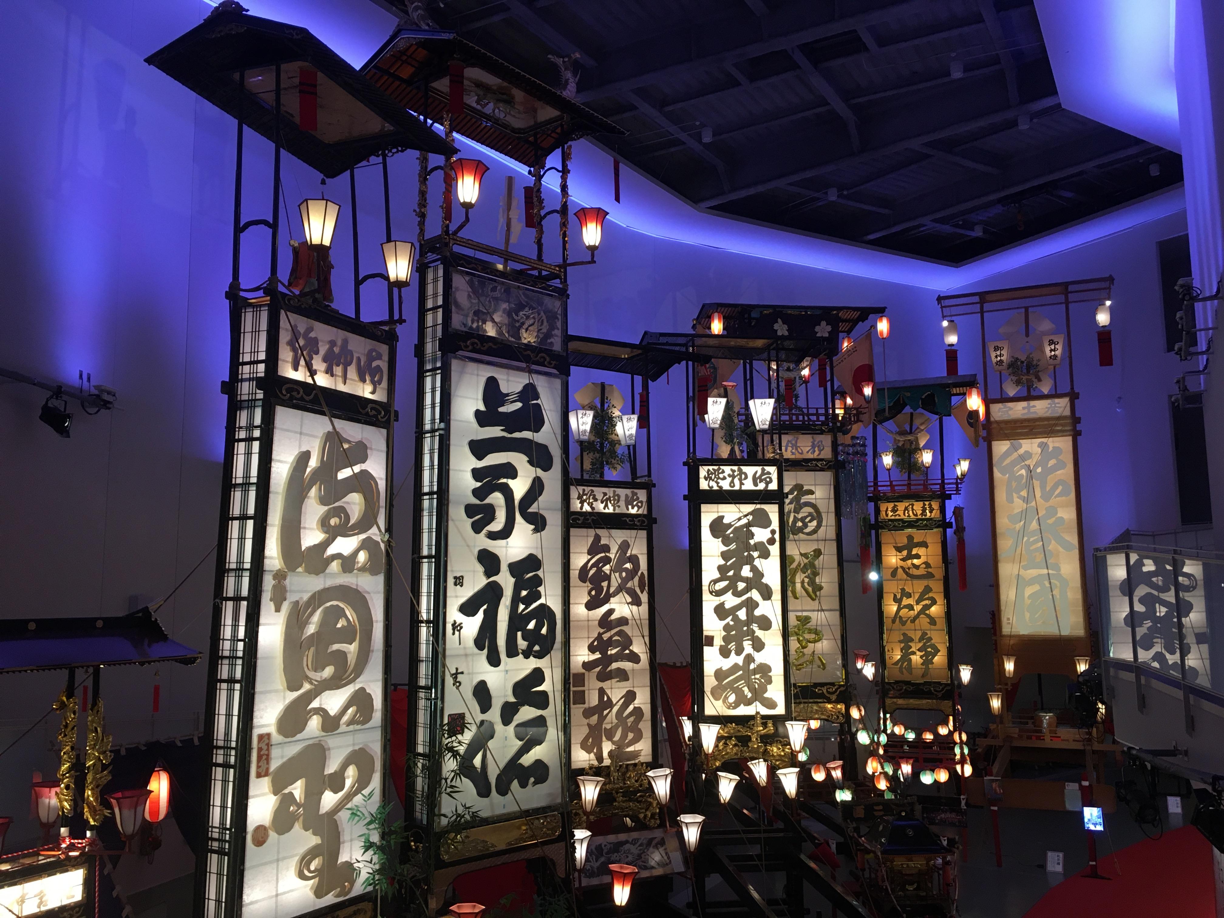 輪島キリコ会館|館長さんからキリコ祭りの文化について聞くことができました。