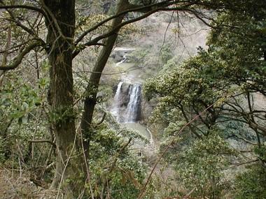展望所から見た双竜の滝