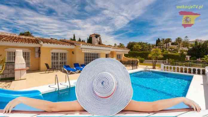 Hiszpania - relax i udany urlop w Hiszpanii - basen i uroczy hotel
