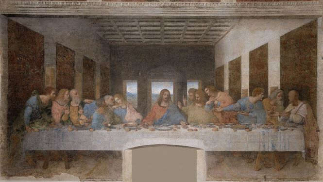 Milan-last supper