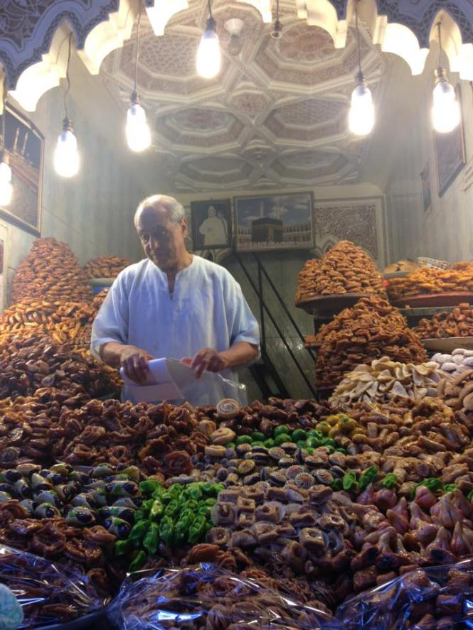 Morocco- different sweets and deserts