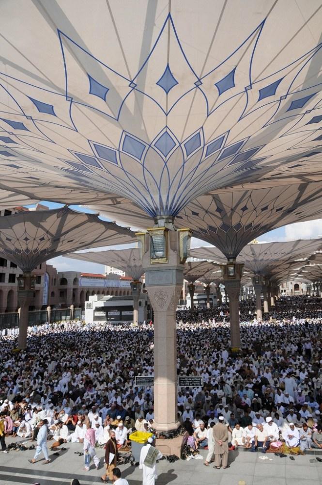 medinat Huge-umbrellas