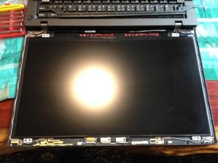 ThinkPad T440s 液晶ベゼル