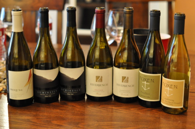 Riverbench roundtable tasting