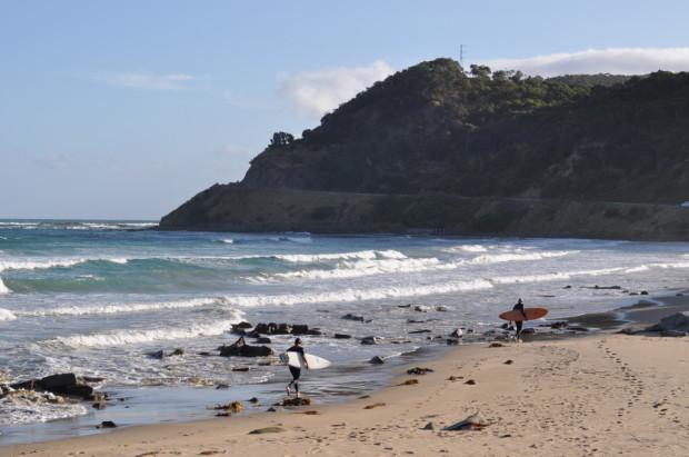 Eastern View Beach looking West, Great Ocean Road