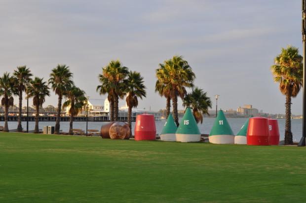 The Geelong Harbor