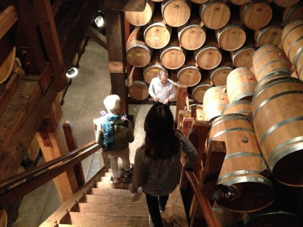 Going into the 1880s limestone caves of Monte Bello
