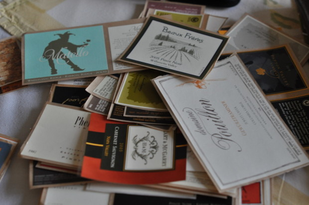 Clare's label design