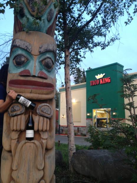 Taco King Totem Pole