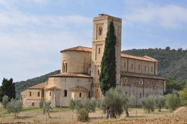 The Chapel of Sant'Antimo