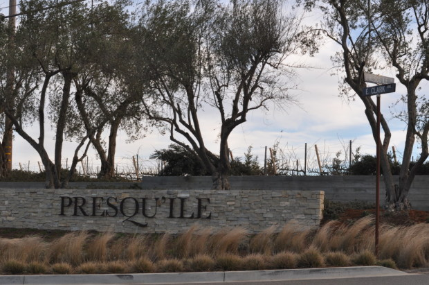 Entrance to Presqu'ile