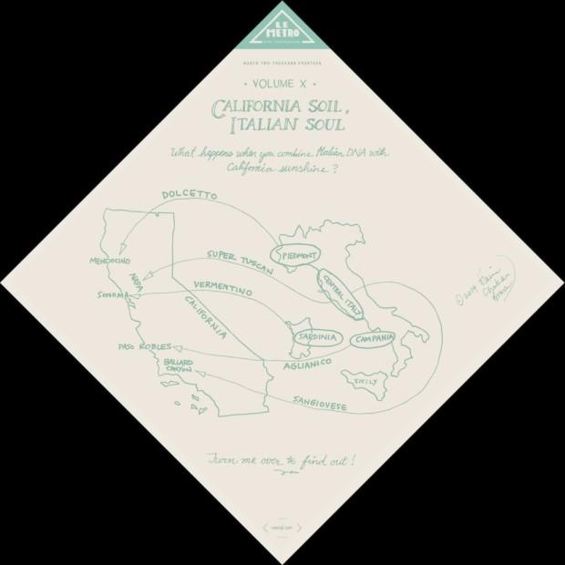 le-metro_Vol-X California Soil, Italian Soul