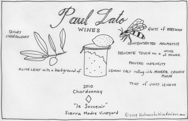 Paul Lato 2010 Chardonnay