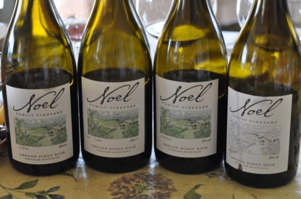 Noel Family Vineyards Pinot Noir