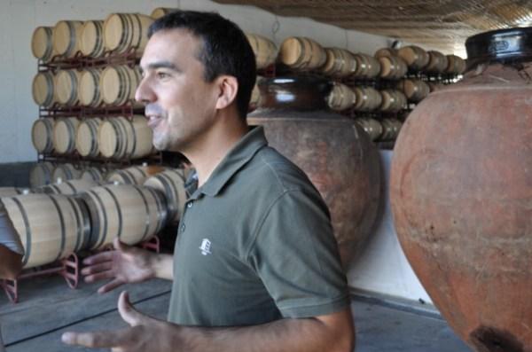 Winemaker Luis Patrao