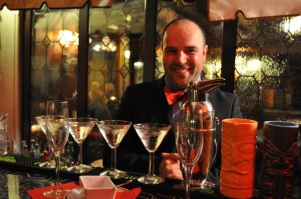 Head Barman Gennaro Florio