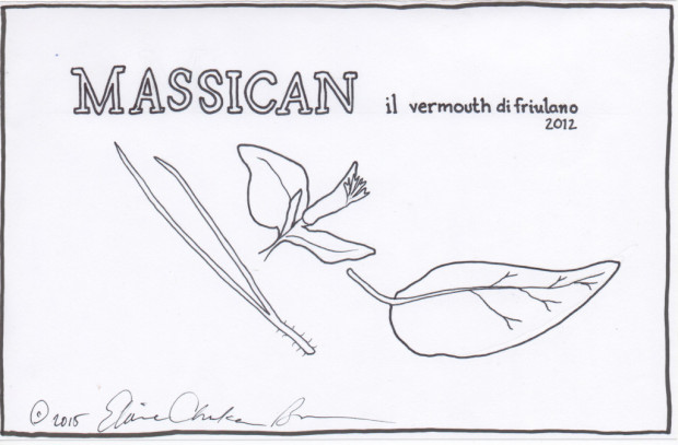 Massican 2012 Vermouth