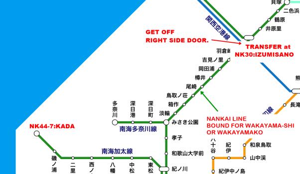 Get KADA by Train