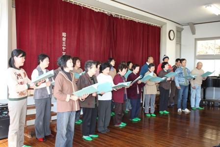 公民館合唱教室