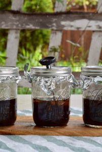 infusing cannabis mason jar coconut oil