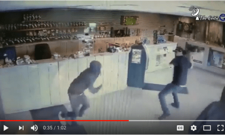 Pepper Spray Thieves Meet Their Match With Bong Wielding Dispensary Owner
