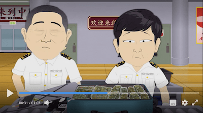 South Park: Tegridy Farms Goes To China