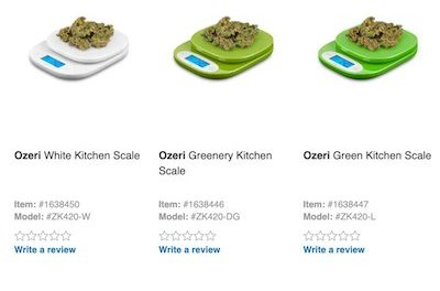 Lowe's quietly removes kitchen scales from its website after viral internet post pointed out the product imagery contained a weed-like herb