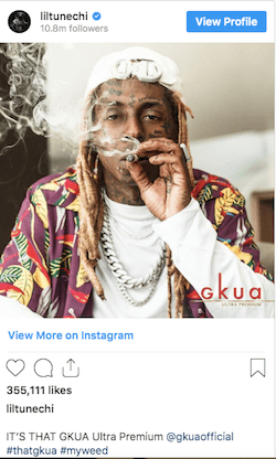 Another Day Another Rapper Another New Weed Brand