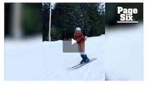 American Comedian Goes Skiing At Whistler In Her Undies & Smoking Weed