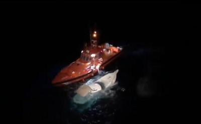 3 Tons Of Hash Found On Sinking Boat