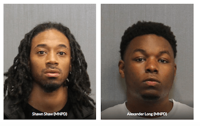 Nashville Pair Caught With Weed & AK47 At Gas Station