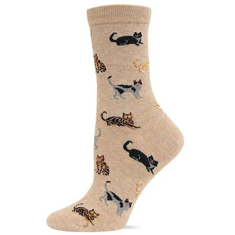 Cat Hemp Socks