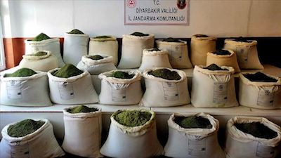 Turkey: Over 300 kg of cannabis seized