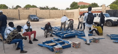 The Gambia: 900 Blocks Of Moroccan Hashish Seized By DELAG